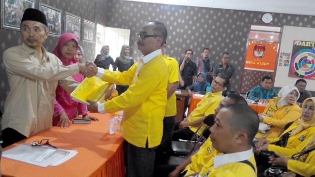Golkar Kota Kediri Resmi Terdaftar di KPUD, Pileg 2019 Targetkan Minimal 6 Kursi