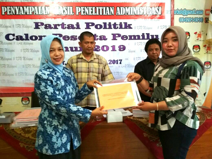 KPU Kabupaten Blitar Digelontor Rp 28,39 M untuk Pilgub Jatim