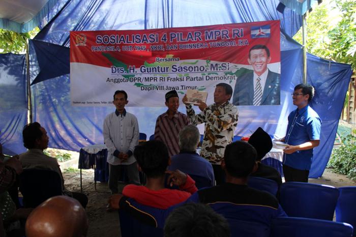 Anggota Poktan dan Gapoktan Desa Kepel Ikuti Sosialisasi 4 Pilar