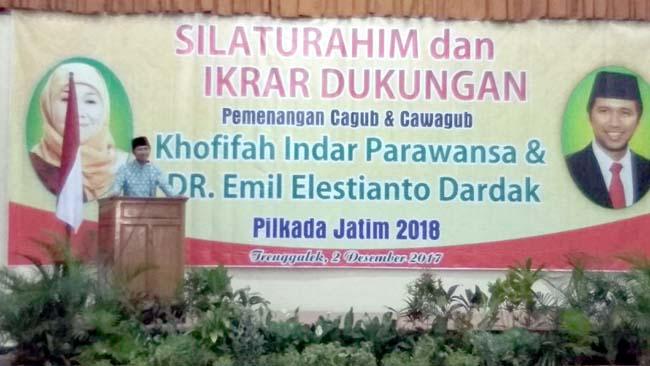 Emil Dardak Siap Berjuang Demi Restu Masyarakat Jatim