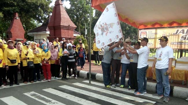 Jelang Pilgub, KPU Trenggalek Gelar Jalan Sehati
