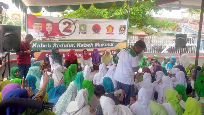 Mbak Puti Bawa Dik Dilan Untuk Masyarakat Jawa Timur