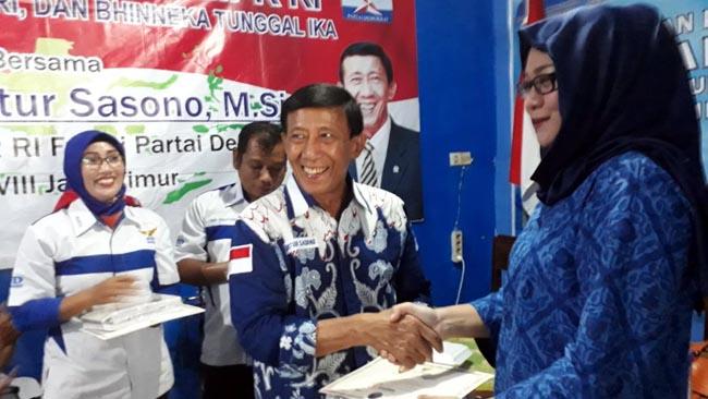 Demokrat Nganjuk dan Anggota MPR Gelar Seminar