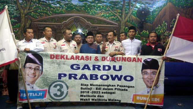 Anggota Gardu Prabowo Sepakat Dukung Paslon SAE