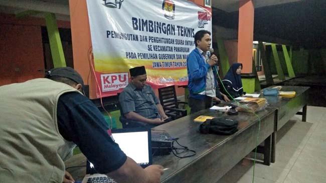 PPS Paowan, Kecamatan Panarukan Gelar Bimtek Ketua KPPS dan Anggota KPPS