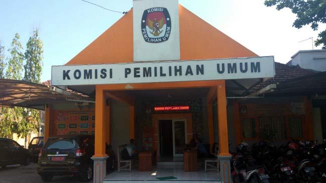 Kantor KPU Lamongan di Jl Basuki Rahmad No 207 Lamongan