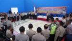 Kesiapan Pengamanan Pemilu, Polres Situbondo Gelar Latihan Pra Operasi Mantap Brata Semeru 2018