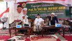 Silaturahmi ke Ponpes Zainul Hasan Genggong, Ma'ruf Amin Janjikan Ubah Sistem Ekonomi Liberal