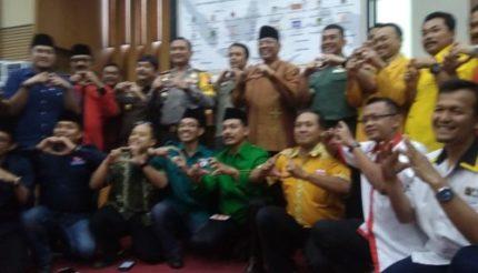 Deklarasi Damai Awali Pemilu 2019 di Kabupaten Malang