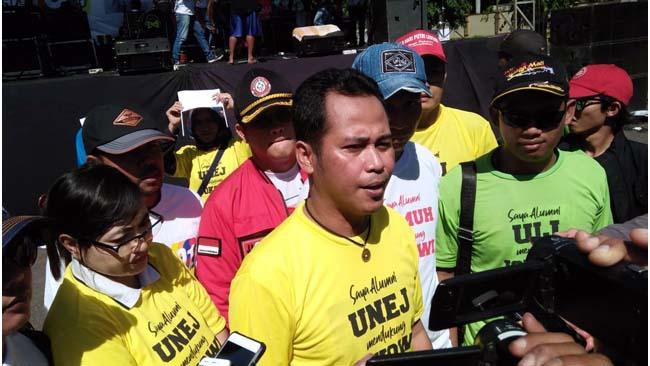 Alumni 4 PTN dan PTS Se-Jember Dukung Jokowi