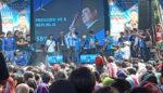 Ratusan Warga Sumbersari Datangi Kampanye Partai Demokrat