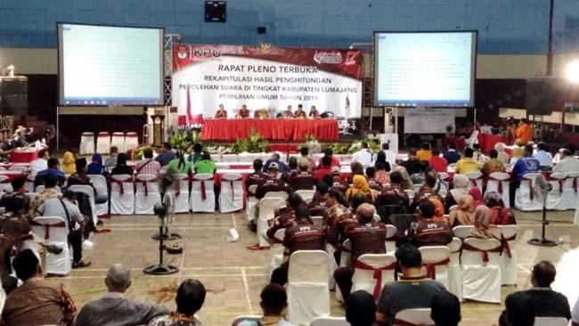 Jokowi-Makruf Ungguli Prabowo-Sandi di Lumajang