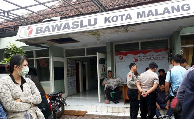 Kantor Bawaslu Kota Malang. (gie)