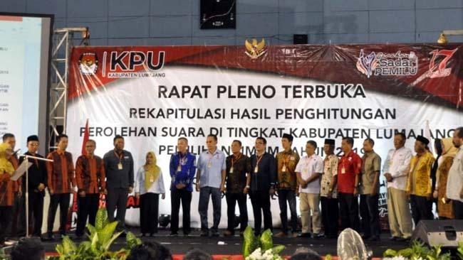 Semoga Semua Pihak Harus Jaga Persatuan, Pasca Penerapan KPU Lumajang