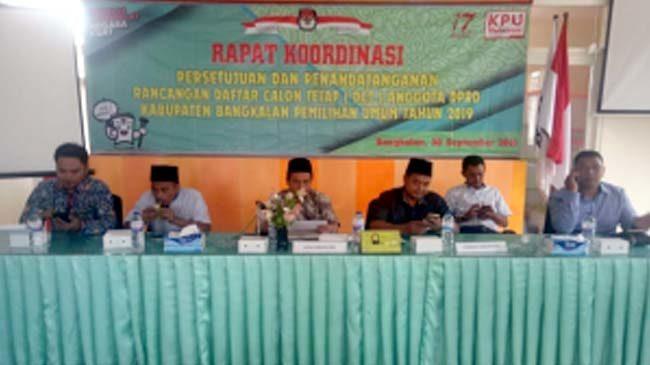 KPU Bangkalan Tetapkan Calon Legislatif Terpilih Hari Ini